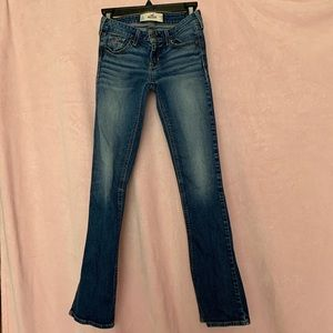 Hollister slim boot-cut jeans
